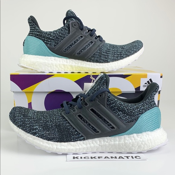 Adidas Ultra Boost 4 Parley Carbon Blue